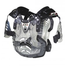 Progrip 5956 Youth Hard Plastic Chest Protector Clear