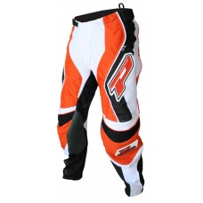 "Progrip 6010-14 Adult Motocross Pants Orange 26""-28"" Waist"