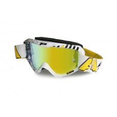 Progrip 3450 Top Line Motocross Goggles ARMA ENERGY White Design