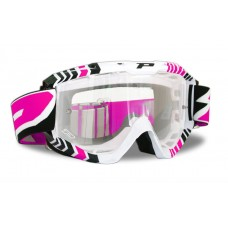 Progrip 3450/14 Top Line Motocross Goggles Pink
