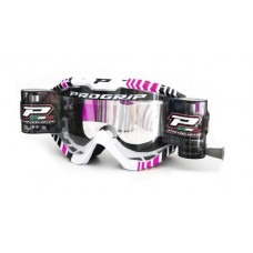 Progrip 3458/14 Top Line Motocross  XL Roll Off Goggles Pink