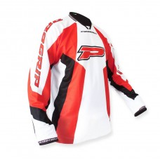 Progrip 7010-14 Adult Motocross Shirt Red