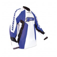 Progrip 7010-14 Adult Motocross Shirt Blue