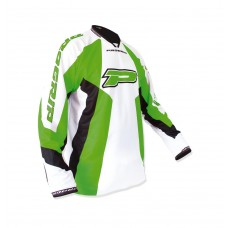 Progrip 7010-14 Adult Motocross Shirt Green