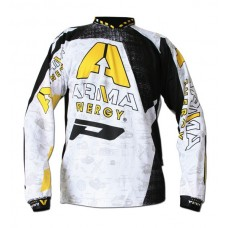 Progrip 7012 Adult Motocross Shirt – Arma Energy White