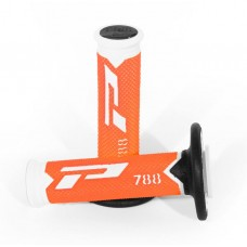 Progrip 788 MX Triple Density Grips Limited Edition Fluorescent Orange-White