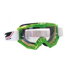 Progrip 3201 Race Line Motocross Goggles Green