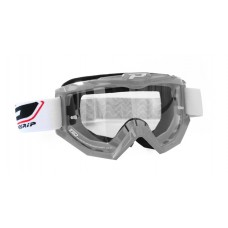 Progrip 3201 Race Line Motocross Goggles Silver