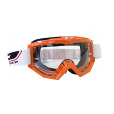 Progrip 3201 Race Line Motocross Goggles Orange