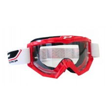Progrip 3201 Race Line Motocross Goggles Red