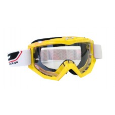 Progrip 3201 Race Line Motocross Goggles Yellow