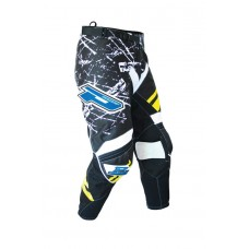 Progrip 6010-15 Adult Motocross Pants Yellow/White