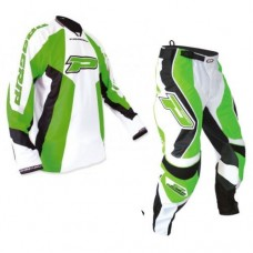 Progrip 6010-7010 Adult Motocross-Enduro Pants & Shirt MX Kit Green