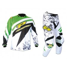 Progrip 6010-7010 Adult Motocross-Enduro Kit Green/Black