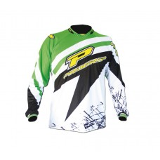 Progrip 7010 Adult Motocross Shirt Green/Black