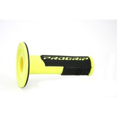 Progrip 801 MX Dual Density Grips Fluorescent Yellow
