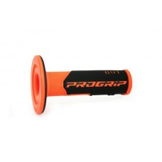 Progrip 801 MX Dual Density Grips Fluorescent Orange