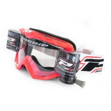Progrip 3208 Race Line Motocross XL Roll Off Goggles Red