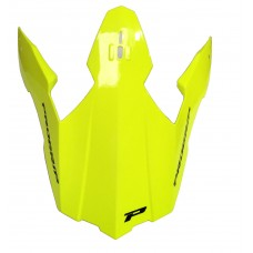 Progrip 3195 Replacement Motocross  Helmet Peak Flo Yellow