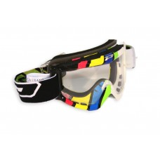 Progrip 3303 Motocross Graphic Goggles Olympic Colours