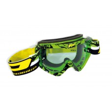 Progrip 3450/16 Top Line Motocross Goggles Green