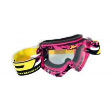 Progrip 3450/16 Top Line Motocross Goggles Pink