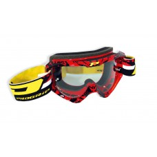 Progrip 3450/16 Top Line Motocross Goggles Red