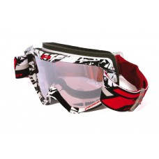Progrip 3450/16 Top Line Motocross Goggles White