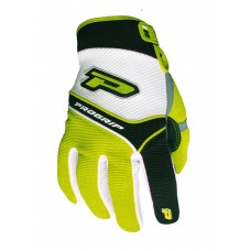 Progrip 4009 Youth Motocross Gloves Fluorescent Yellow