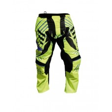 Progrip 6009 Youth Motocross Graphic Pants Fluorescent Yellow
