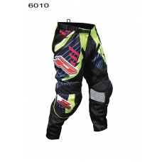 Progrip 6010-17 Adult Motocross Pants Black-Yellow