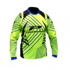 Progrip 7009 Youth Motocross Shirt Fluorescent Yellow