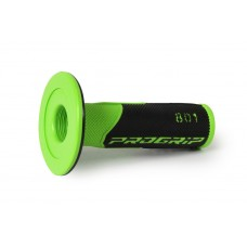 Progrip 801 MX Dual Density Grips Black-Green
