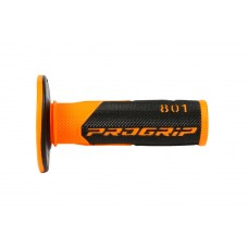 Progrip 801 MX Dual Density Grips Black-Orange