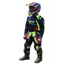 "Progrip 6009-7009 Youth Motocross-Enduro Kit Black-Yellow 26"" Waist"