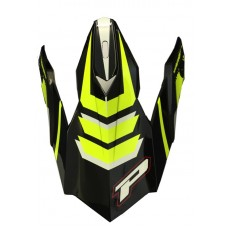Progrip 3010 Replacement Motocross Helmet Peak Fluorescent Yellow
