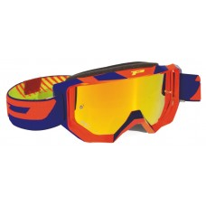 Progrip 3200/17/FL Venom Motocross Goggles Fluorescent Orange/Blue