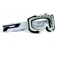 Progrip 3400/17 Menace Motocross Goggles White