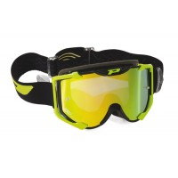 Progrip 3404/17 Menace Motocross Goggles Yellow with Multilayered Lens
