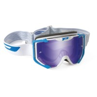 Progrip 3404/17 Menace Motocross Goggles Light Blue with Multilayered Lens