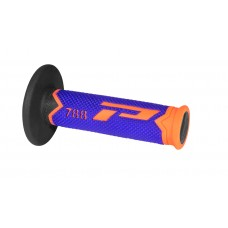 Progrip 788 MX-Motocross Triple Density Grips Fluorescent Orange-Blue