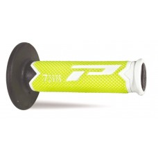 Progrip 788 MX Triple Density Grips Limited Edition Fluorescent Yellow-White