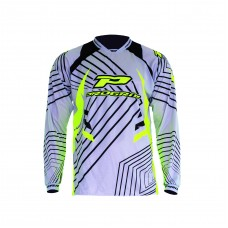 Progrip 7010-17 Adult Motocross Shirt -Grey
