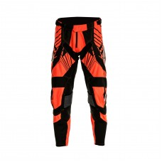 Progrip 6009 Youth Motocross Graphic Pants Fluorescent Orange