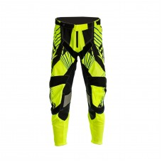 Progrip 6010-17 Adult Motocross Pants Fluorescent Yellow