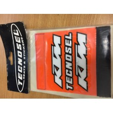 Tecnosel KTM Orange  Handlebar grip cover-Protector