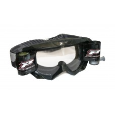 Progrip 3200/RO Venom Motocross Goggles with  XL Roll Off Carbon