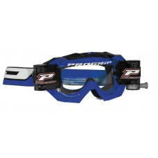 Progrip 3200/RO  Venom Motocross Goggles with  XL Roll Off Blue