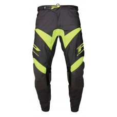 Progrip 6010-18 Adult Motocross Pants Black-Flo Yellow