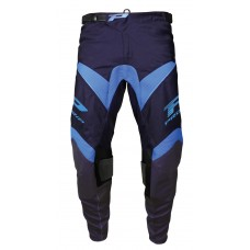Progrip 6010-18 Adult Motocross Pants Blue-Light Blue